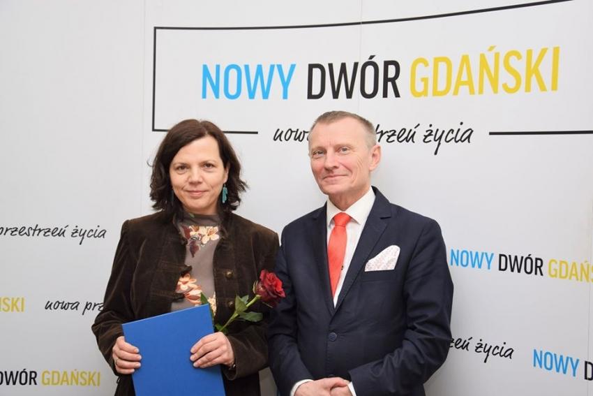 Monika Jastrzębska-Opitz pokieruje Żuławskim Ośrodkiem Kultury do 2025 roku.