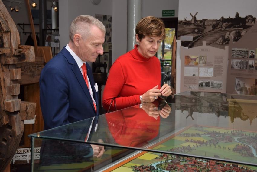 Ambasador Królestwa Niderlandów z wizytą w Żuławskim Parku Historycznym.