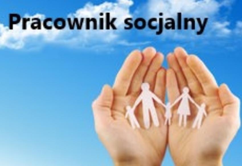 Wolne miejsce pracy na stanowisko pracownik socjalny.
