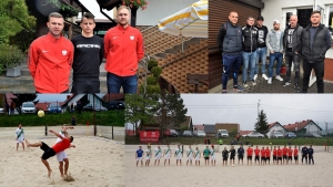 Kadra narodowa Beach Soccera w Sztutowie  po raz drugi -  12.05.2019