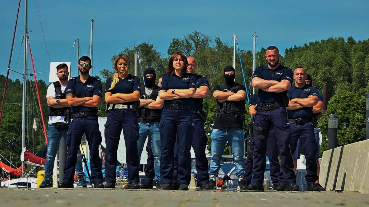 #GaszynChallenge Komenda Powiatowa Policji z Nowego Dworu Gdańskiego przyjęła wyzwanie