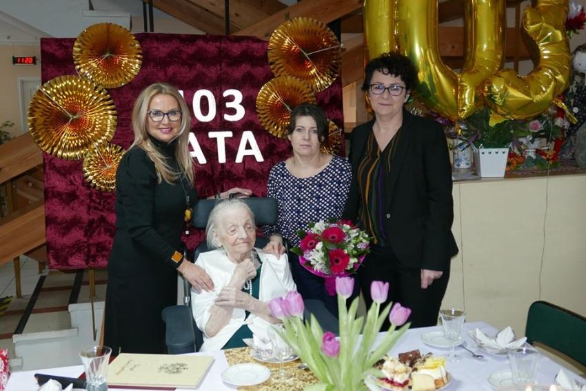 Stegna. 103 urodziny pani Joanny obchodzono w Morsie.
