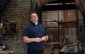 Rozpoczęły się prace w kościele św. Barbary w Orłowie.